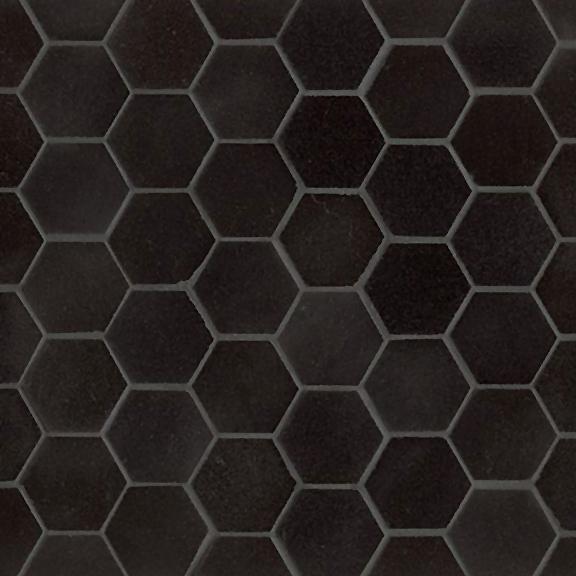 Hexagon Mosaic Absolute Black