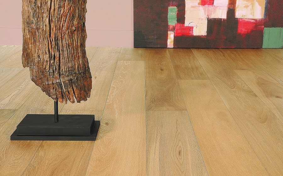 Vernal Collection Natural Hardwood Plank 7 X 72 Duchateau