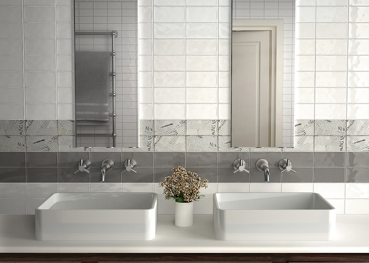 Masia Blanco Crackle 3x6 Wall Tiles