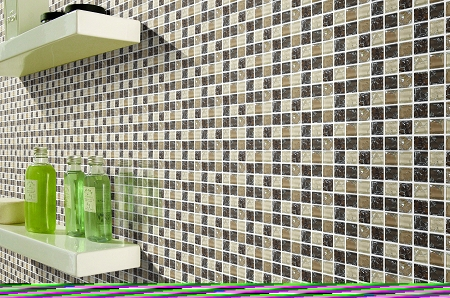 Glass Mosaic | Mocha Crackled | GC1003