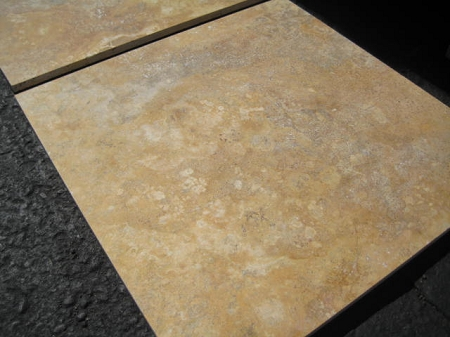 Sienna Gold Travertine | 18x18 | Filled | Honed