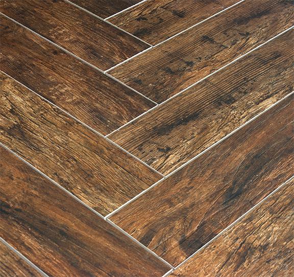 Redwood Mahogany 6x24 Wood Plank