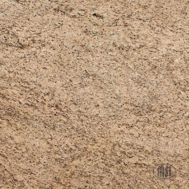 Amarelo ornamental Granite Slab