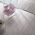 Modena Wood Design Collection | Bianca Porcelain Tile | 6.5x40