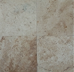 Antioch Light Travertine | 18x18 | Filled | Honed