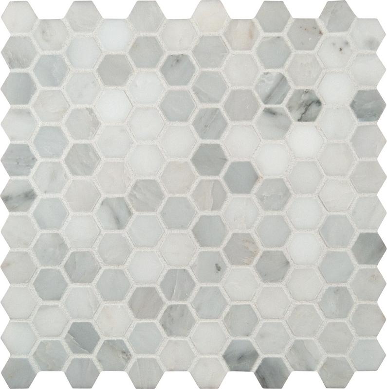 Arabescato Carrara 1 Quot Hexagon Honed