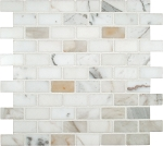 Calacatta Gold 1x2 Polished Backsplash