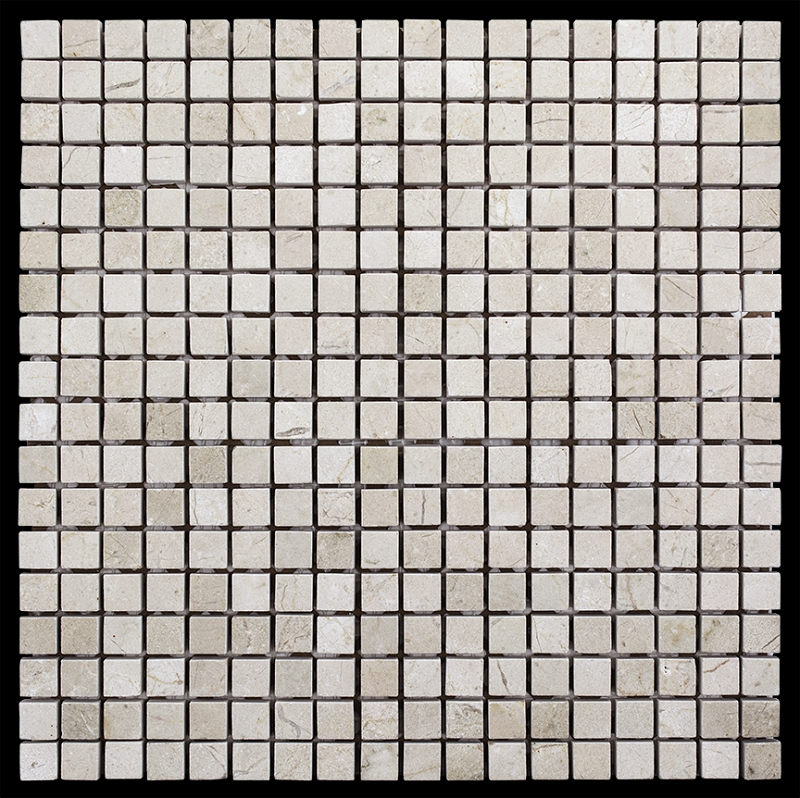Crema Marfil Mosaic 5 8 X Honed