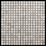 Crema Marfil Mosaic | 5/8 x 5/8 | Honed