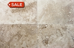 Crema Turco Travertine | Filled | 16x24 | Honed
