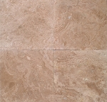 Crema Country Travertine | 16x16 | 18x18 | 24x24 | Filled | Honed