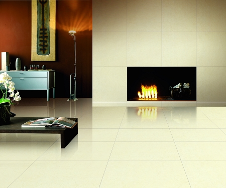 Polished Porcelain Fantasia Marfil 24x24 Tiles