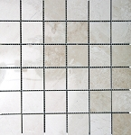 Fiorito Beige Travertine Mosaic | 2x2 | Polished