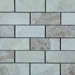 Fiorito Beige Travertine Mosaic | 2x4 | Polished