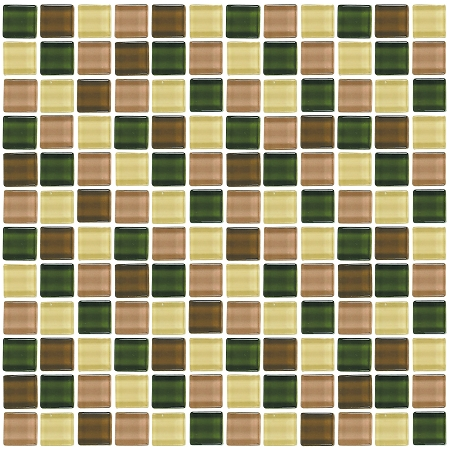 Glass Mosaic | Forest Sand | GA1004