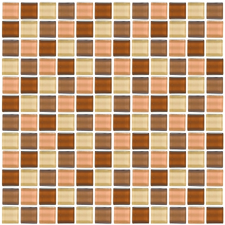 Glass Mosaic | Peach Cobbler | GA1008
