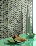 Glass Mosaic | Shades of Green Crackled | GC1005