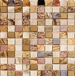 Glass & Stone Mosaic | Gold Sunrise | GS1002