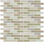 Glass & Stone Mosaic | Bamboo Natural | GS4002