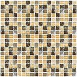 Glass & Stone Mosaic | Dark Honey | GS5005