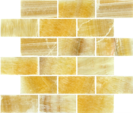 Giallo Crystal Onyx | 2x4 | Polished