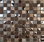 Glass & Stone Mosaic | Iced Mocha | GS1005