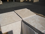Ivoria Premium Travertine | Filled | 18x18 | Honed