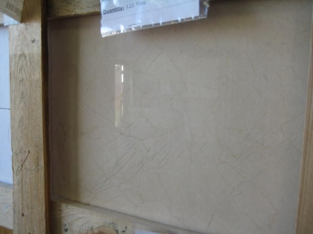 Crema Marfil Select Marble | 18x18 | Polished