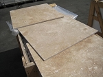 Hazelnut Travertine | Filled | 24x24 | Honed