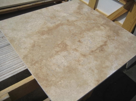 Walnut Travertine | 24x24 | Filled | Honed