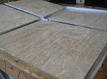 Ivoria Premium Travertine | Vein Cut | 18x18 | Polished