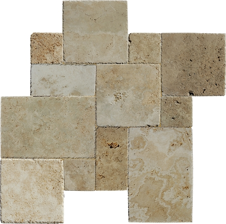 Rustic Imperium Travertine Versailles Pattern Tile Delectable Versaille Pattern