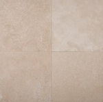Ivoria Premium Travertine | 24x24 | Filled | Honed