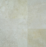 Ivoria Premium Travertine | Chiseled Edge  | Versailles Pattern