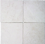 Ivory Premium Travertine | 12x12 | Tumbled