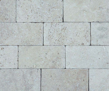 Light Brick Travertine | 3x6