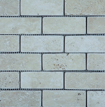 Light Stone TIle Mosaic | 2x4 | Tumbled
