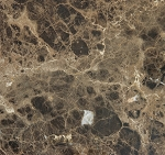 Emperador Dark Select Marble | Porcelain Back | 24x24 | Polished