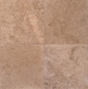 Noce Travertine | 18x18 | Filled | Honed