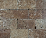 Noce Premium Brick Travertine | 3x6