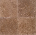 Noce Premium Travertine | 12x12 | Filled | Honed