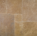Noce Premium Travertine | Versailles Pattern | Tumbled