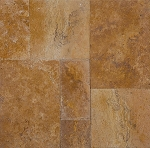 Sienna Gold Travertine | Tumbled | Unfilled | Versailles Pattern