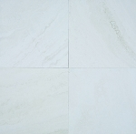 Snow White Travertine | 16X16 | Filled | Honed
