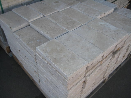 Walnut Stone Paver | Chiseled Edge | 3cm | 6x12