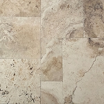 Picasso Travertine | Versailles Pattern | Chiseled | Brushed | Unfilled