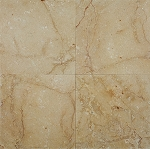 Pisidia Saffron Limestone | Straight Edge | 18x18 | Honed