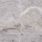 Silver Travertine | 18x18 | Filled | Honed