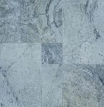 Silver Travertine | Straight Edge | Versailles Pattern