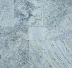 Silver Travertine | 1 1/4 3cm | Versailles Pattern | Tumbled